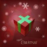 Cartolina d'auguri di Buon Natale Immagini Stock