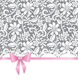 Cartolina d'auguri di cerimonia nuziale, dell'invito o Fotografia Stock