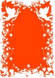 Cartolina d'auguri di giorno del biglietto di S. Valentino con il cuore dei fiori sul backg del grunge Fotografie Stock Libere da Diritti