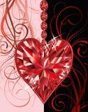 Cartolina d'auguri di giorno di biglietti di S. Valentino di nozze Immagini Stock