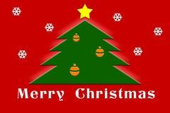 Cartolina d'auguri di Natale Immagini Stock