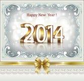 Cartolina d'auguri di Natale 2014 Fotografia Stock