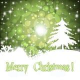 Cartolina d'auguri di Natale 2014. Immagine Stock Libera da Diritti