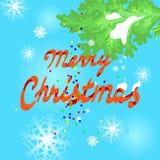 Cartolina d'auguri di Natale. Immagini Stock Libere da Diritti