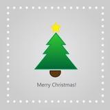 Cartolina d'auguri di Natale Illustrazione Vettoriale