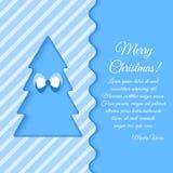 Cartolina d'auguri di Natale Fotografie Stock Libere da Diritti