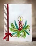 Cartolina d'auguri di Natale Fotografie Stock
