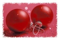 cartolina d'auguri di Nuovo-anno Fotografie Stock Libere da Diritti