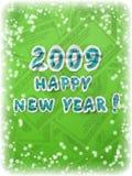 Cartolina d'auguri di nuovo anno Immagine Stock