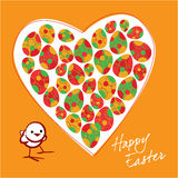 Cartolina d'auguri di Pasqua illustrazione di stock