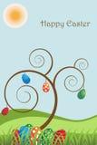 Cartolina d'auguri di Pasqua   Immagini Stock