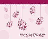 Cartolina d'auguri di Pasqua Fotografia Stock