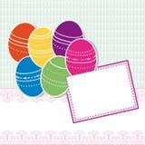 Cartolina d'auguri di Pasqua Immagine Stock Libera da Diritti