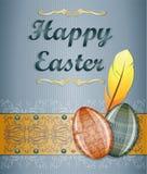 Cartolina d'auguri di Pasqua. Immagini Stock Libere da Diritti