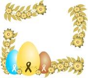 Cartolina d'auguri di Pasqua royalty illustrazione gratis