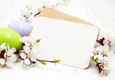 Cartolina d'auguri di Pasqua Fotografie Stock
