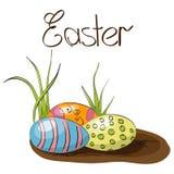 Confine di Pasqua Immagine Stock