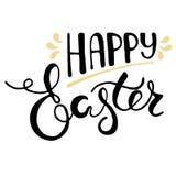 Cartolina d'auguri di Pasqua - Pasqua felice Fotografia Stock