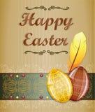 Cartolina d'auguri di Pasqua. Fotografie Stock Libere da Diritti