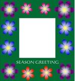 Cartolina d'auguri di Seoson Immagini Stock