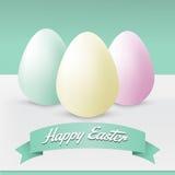 Cartolina d'auguri felice di Pasqua Immagine Stock Libera da Diritti