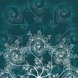 Cartolina d'auguri o invito, fondo con l'elemento del disegno di scarabocchio per la vostra progettazione illustrazione di stock