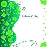 Cartolina d'auguri per il giorno della st Patrick Immagine Stock