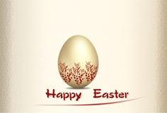 Cartolina d'auguri per Pasqua Fotografia Stock