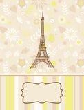 Cartolina d'auguri romantica Fotografie Stock