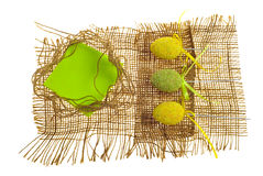 Cartolina d'auguri scrapbooking di Pasqua Fotografia Stock Libera da Diritti