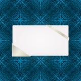 Cartolina d'auguri sul reticolo senza giunte Immagini Stock Libere da Diritti