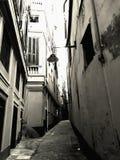 Cartolina da Genova: un vicolo caratteristico immagini stock libere da diritti