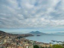 Cartolina da Napoli Immagini Stock Libere da Diritti