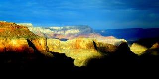 Cartolina del grande canyon Fotografia Stock
