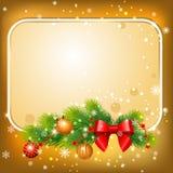 Cartolina del nuovo anno Immagini Stock