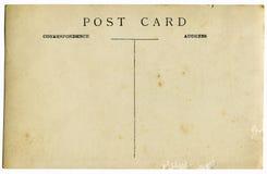 Cartolina dell'annata Immagini Stock
