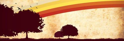 cartolina di autunno Immagini Stock Libere da Diritti