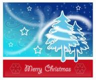 Cartolina di Buon Natale Fotografia Stock