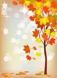 Cartolina di festa di autunno Immagine Stock Libera da Diritti