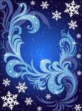 Cartolina di inverno illustrazione vettoriale
