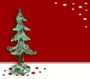 Cartolina di Natale Fotografia Stock