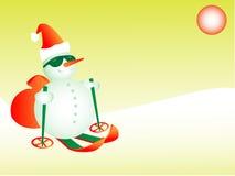 Cartolina di Natale Fotografie Stock Libere da Diritti
