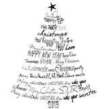Cartolina di Natale 2013. Fotografie Stock