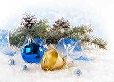 Cartolina di Natale. Immagine Stock
