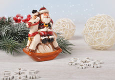 Cartolina di Natale. Immagini Stock Libere da Diritti