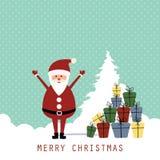 Cartolina di Natale Immagine Stock Libera da Diritti
