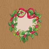 Cartolina di Natale Fotografie Stock