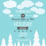 Cartolina di Natale Immagini Stock