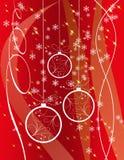 Cartolina di Natale Fotografia Stock Libera da Diritti