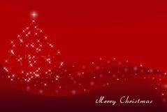 Cartolina di Natale allegra Immagine Stock